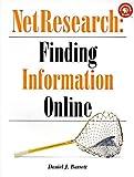 NetResearch: Finding Information Online (Songline Guides), Daniel J. Barrett, 156592245X