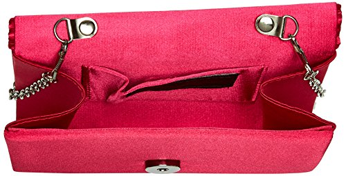 McClintock Satin womens Raspberry Katie Jessica Clutch zFpx6