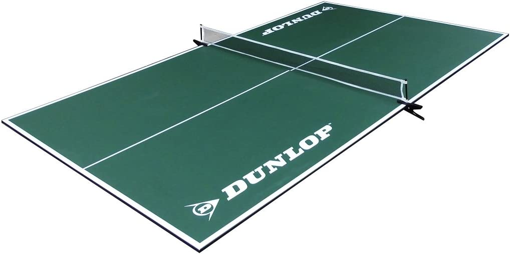 DUNLOP Official Size Table Tennis Conversion Top Premium Clamp Style Net Post