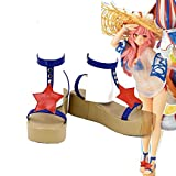 Telacos FGO Fate Grand Order Tamamo No Mae Shoes Swimsuit Cosplay Costume Cosplay