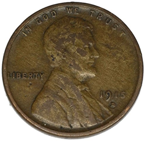 1915 D Lincoln Wheat Penny Good