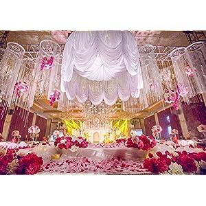 Sogorge 3000 Pieces Dark Red Silk Rose Petals Artificial Flower Petals for Wedding Confetti Flower Girl Bridal Shower Hotel Home Party Valentine Day Flower Decoration (Dark Blue) 3