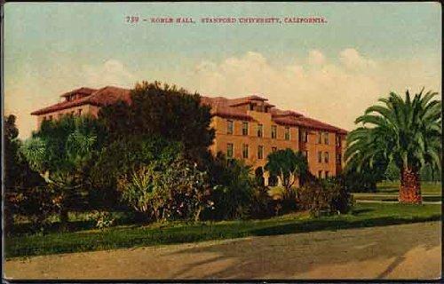 Roble Hall (Sequoia) Stanford University (Palo Alto California Vintage Mitchell Postcard) (No. - Palo Alto Stanford