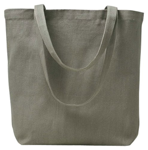 ECON RECYCLED BASIC TOTE BAG (EVERYDAY OLIVE) ()