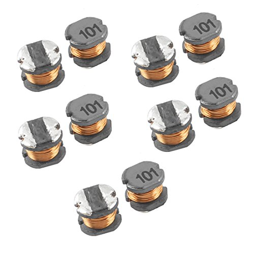 (uxcell Ferrite Chip SMD Power Inductors CD54 100uH 5.8mmx5.2mmx4.5mm)