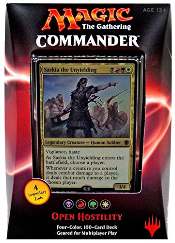Magic the Gathering Commander 2016 Deck - Open Hostility (BRGW)