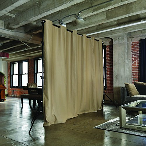 Roomdividersnow Premium Heavyweight Room Divider Curtain 8ft Tall X 10ft Wide Mocha Buy