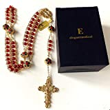 elegantmedical handmade Gold Ladder to Heaven Red