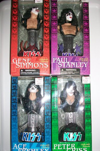 KISS Collectible Statuettes - Set of All 4 Figures