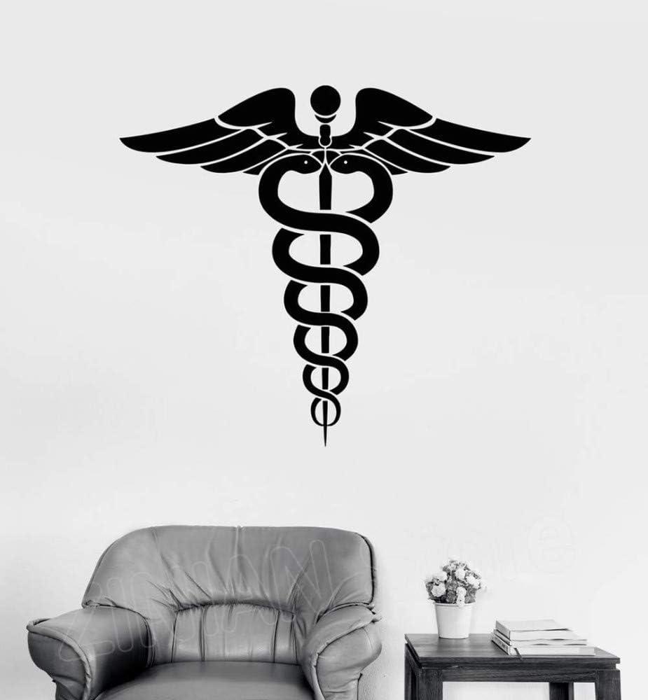 Caduceo Vinilo Tatuajes de pared Medicina Farmacia Salud Arte ...
