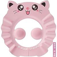 Baby Shower Cap Bathing Cap,Adjustable Protective Baby Shower Cap Safety Visor Cap Hair Washing Shampoo Shield Bathing…