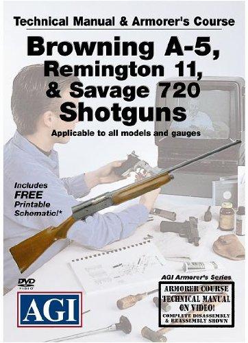 Browning A-5, Remington 11, & Savage 720 Shotguns Armorer's Course