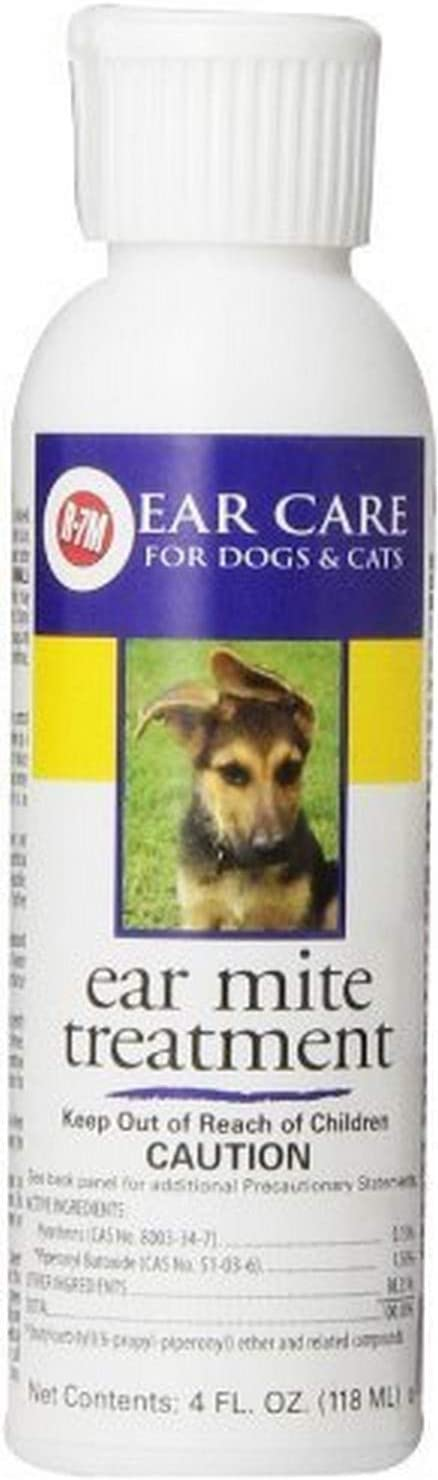 Miracle Care R-7M Ear Mite Treatment 4oz