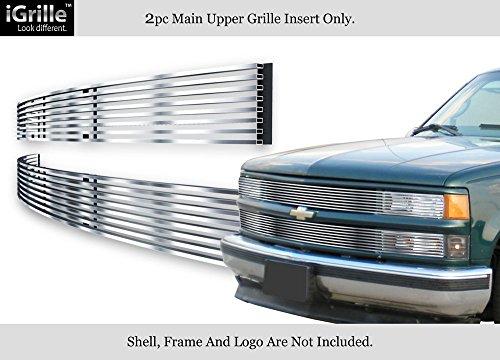 For 94-99 C/K Pickup/Suburban/Blazer/Tahoe Phantom Stainless Billet Grille #C85211C (Billet Suburban Grille C1500)