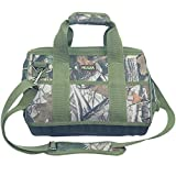 Super Heavy Duty Tool Storage Camo Bag with 4 Wear Resistant EVA Foam Base Green (M:13.4''X11''X8.7'')