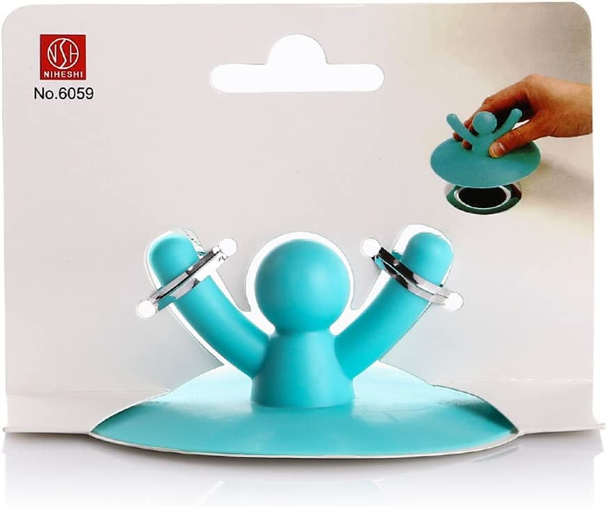 Details about  /Square Bathroom Silicone Strainer Cover Floor Drain Water Stopper Plug 28cm