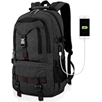 Tocode Fashion Durable Laptop Backpack with USB Charging Port