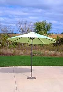 9 39 Patio Market Umbrella With Tilt Light