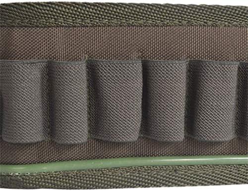 シェルホルダー カートリッジベルト ショットシェル スリング ハンティング 携行可能 調整可能 ホルダーホルスター アーミーグリーン Moomai