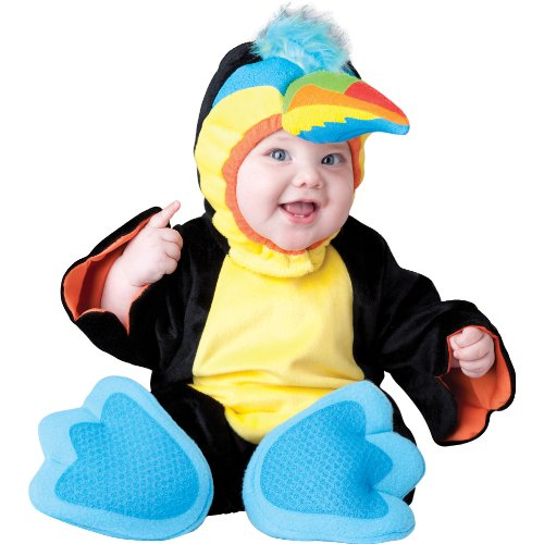 Tiny Toucan Infant Costume Size: 18 Months - (Toucan Costume)