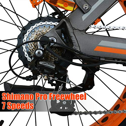 cbffb3fcdf5 Addmotor MOTAN Electric Bicycles Mountain Fat Tire 26 Inch 750W Power Electric  Bikes Removable 48V 11.6