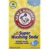 Arm & Hammer Super Washing Soda, 55 oz (Pack of 2)