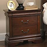 Bowery Hill Nightstand in Mahogany Stain