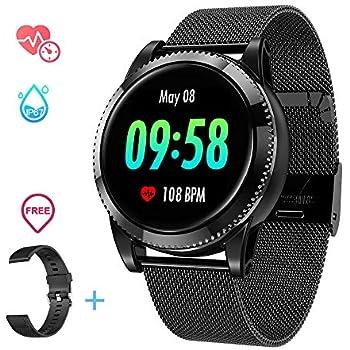 Amazon.com: Smart Watch IP67 Waterproof Fitness Tracker ...