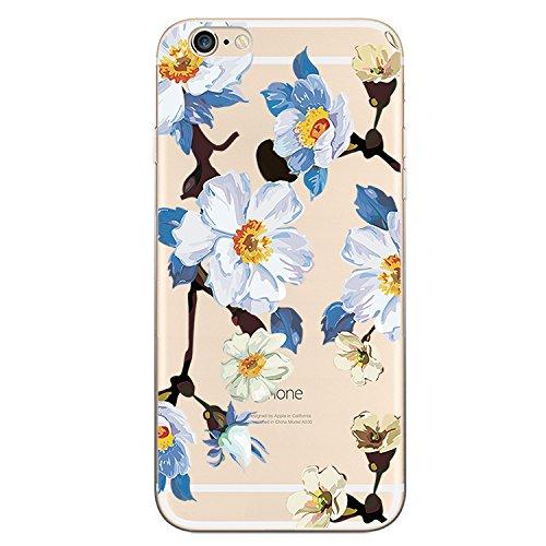 iPhone Blingys Transparent Floral Pattern product image
