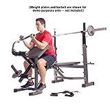 Body-Champ-Olympic-Weight-Bench-with-Preacher-Curl-Leg-Developer-and-Crunch-Handle-Dark-GrayBlack