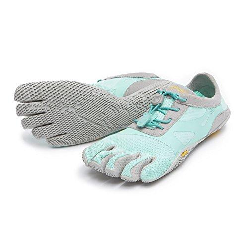 Vibram Fivefingers Mujeres Kso Evo Zapatos Descalzos Y Toesock Bundle Mint / Grey
