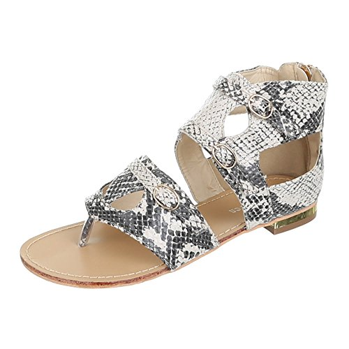 Womens Shoes, GM2071, Sandals Multicolour - Beige Multi