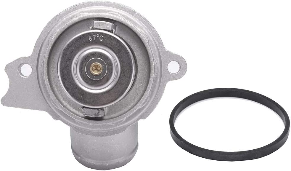 AUTOMUTO 1122030275 Engine Coolant Housing Fit for 2001-2005 Mercedes-Benz C240 2005-2006 Mercedes-Benz C55 AMG,2006 Mercedes-Benz CLS500 Thermostat Housing Kit Assembly
