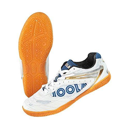 Joola Schuh Court weiß/blau