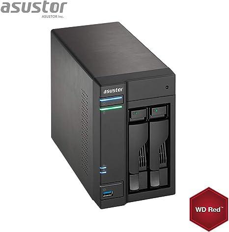 Asustor AS6302T 8GB NAS 2TB (2 x 1 TB) IronWolf 2To: Amazon.es: Informática
