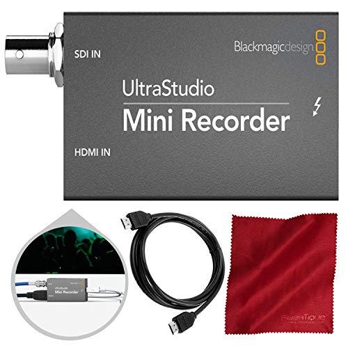 Blackmagic UltraStudio Mini Recorder with HDMI Cable (Decklink Mini Recorder And Decklink Mini Monitor)