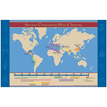 Amazon Com Knowledge Unlimited Inc Ancient Civilizations Map And