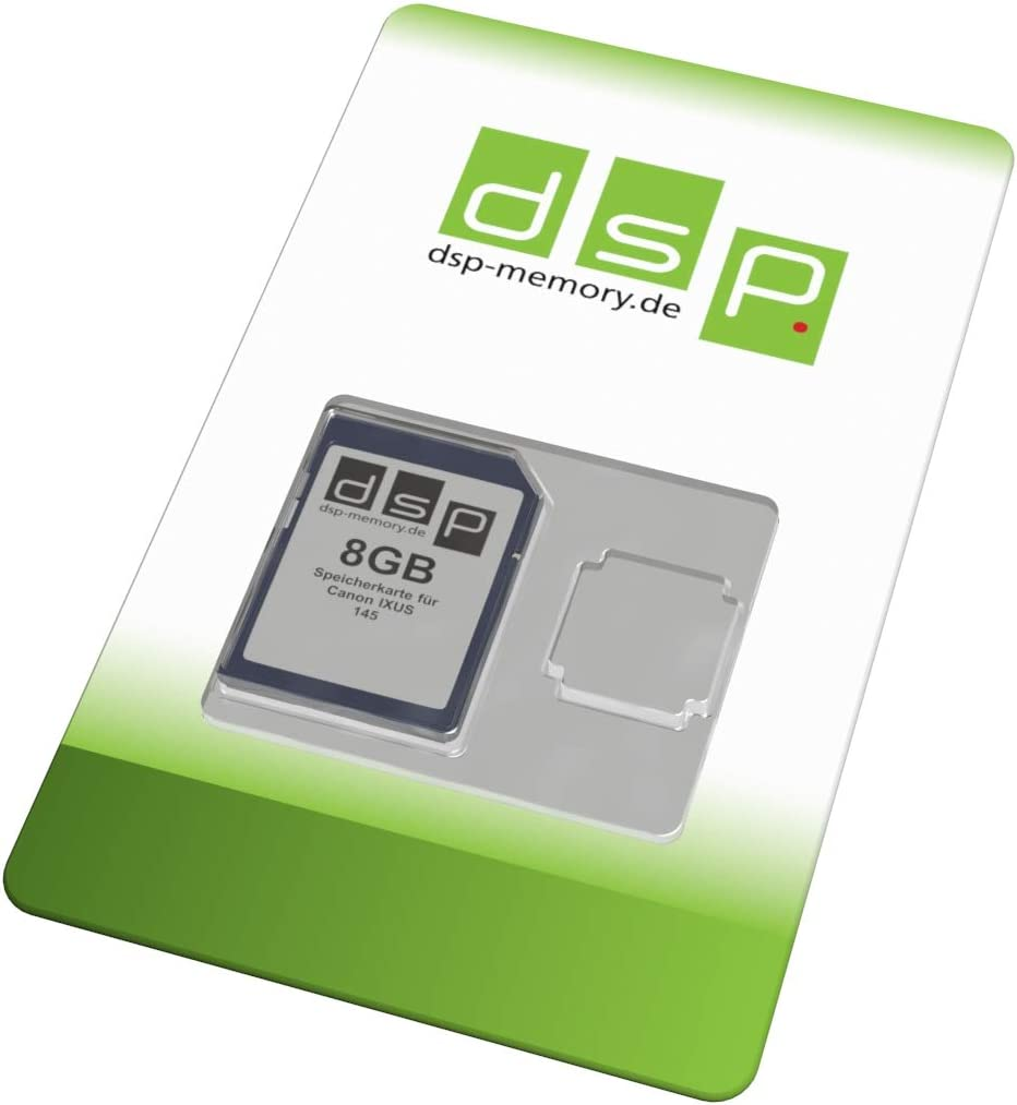 Dsp Memory 8gb Speicherkarte Für Canon Ixus 145 Computer Zubehör