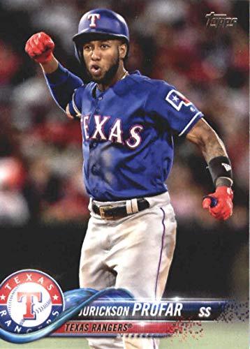 2018 Topps Update and Highlights Baseball Series #US184 Jurickson Profar Texas Rangers Official MLB Trading Card