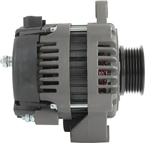 20827 11Si 95 Amp Indmar Marine Alternator Delco 11Si 12 Volt 95 Amp 8400013 4-6451 575014 400-12213 400-12300 8723 18-6451 1-3166-11DR DB Electrical ADR0424 Indmar Marine New Alternator For 8600002