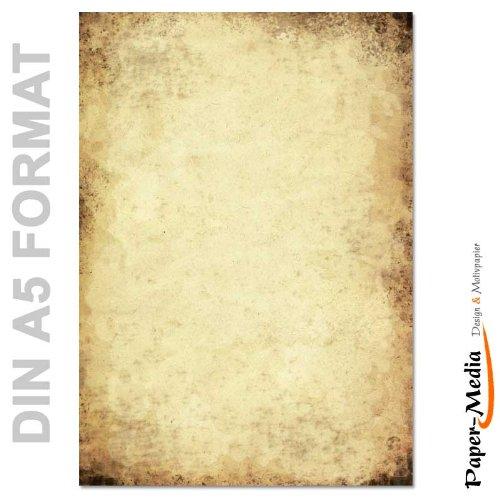 Carta da lettera decorati CARTA ANTICA 50 fogli formato DIN A5 Paper-Media