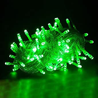 Waterproof Outdoor Home Hotel 100M LED String Lights 1000 Lamps Christmas Light Party Wedding Holiday Decoration light,Green