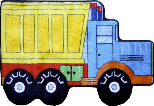 LA Rug Dump Truck Rug 31