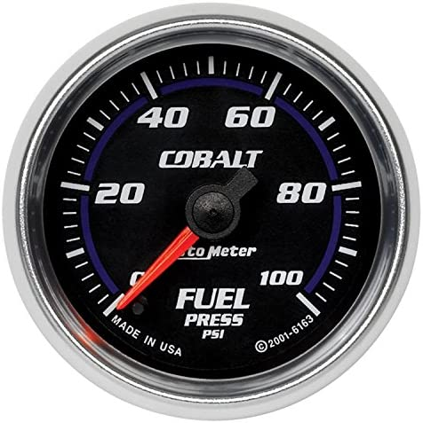 Auto Meter 6163 Cobalt Full Sweep Electric Fuel Pressure Gauge