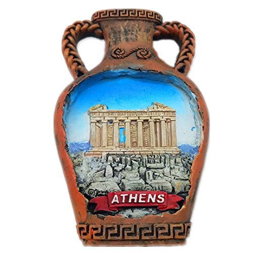 Athens Greece 3D Refrigerator Fridge Magnet Travel City