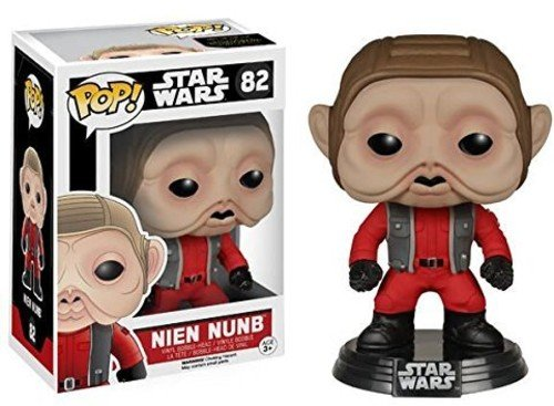Funko POP Star Wars: Episode 7 - Nien Nunb Action Figure