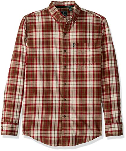 G.H. Bass & Co. Men's Madawaska Trail Long Sleeve Shirt, Rai
