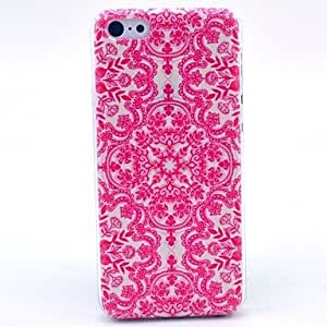 iPhone 5S Case, WBowen Beautiful Mandala Flower Pattern Hard Cover Case for iPhone 5/5S