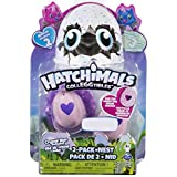 Hatchimals Owlicorn (6038398) – CollEGGtibles Season 2 (Toys R Us Exclusive) – Pack of 2 with Crystal Nest (styles & colors may vary) – by Spin Master
