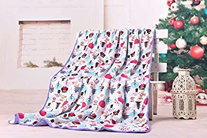 Perfect for Swaddling and Strolling Fluffy for Boys and Girls Genio Baby Sherpa Fleece Baby Blanket Unisex 30 x 40 Soft